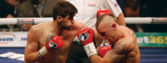 Rocky Fielding vs. Luke Blackledge